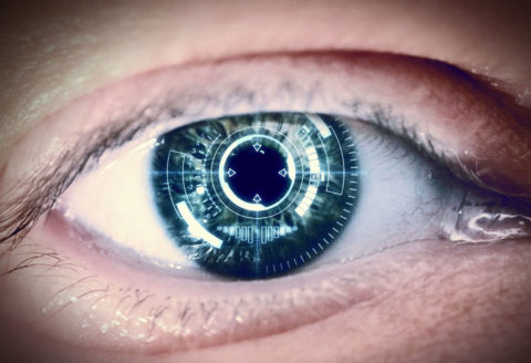 Smartphone enabled contact lenses?