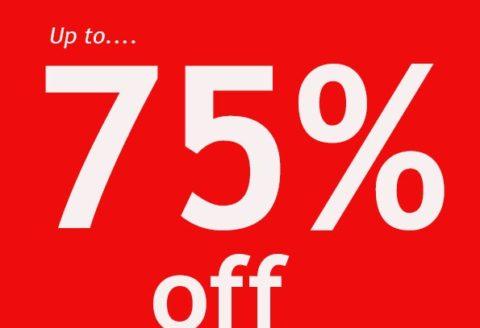 up to 75% off designer frames